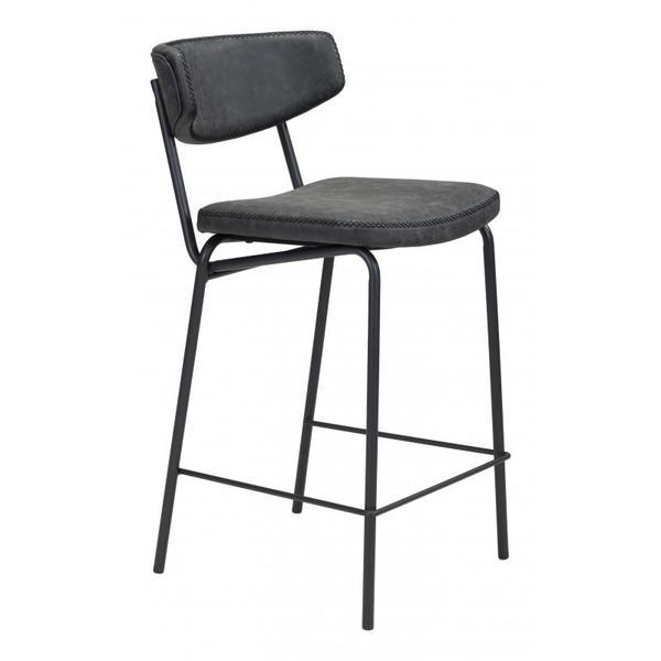 Sharon Counter Chair Vintage Black