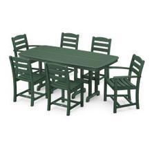 View Product - La Casa Cafu00e9 7-Piece Dining Set in Green