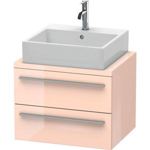 Vanity Unit For Console Compact, Apricot Pearl High Gloss (lacquer)