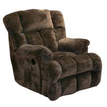 See Details - Chocolate 6541-2 Cloud 12 Chaise Rocker Recliner
