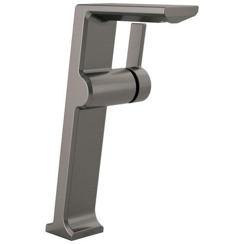 Black Stainless Single Handle Vessel Bathroom Faucet