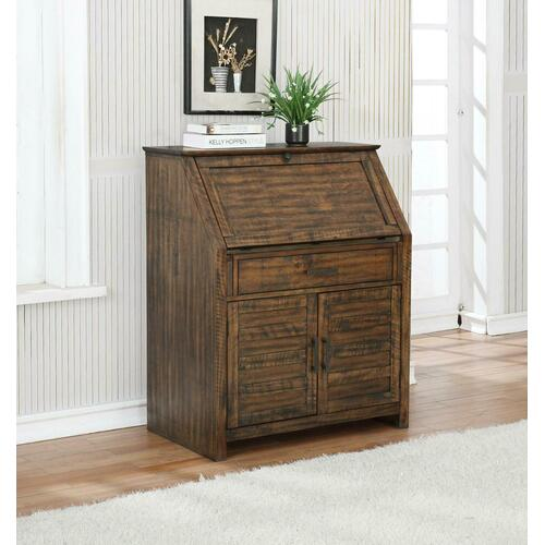 Coaster - Margaret Antique Brown Secretary Power Desk