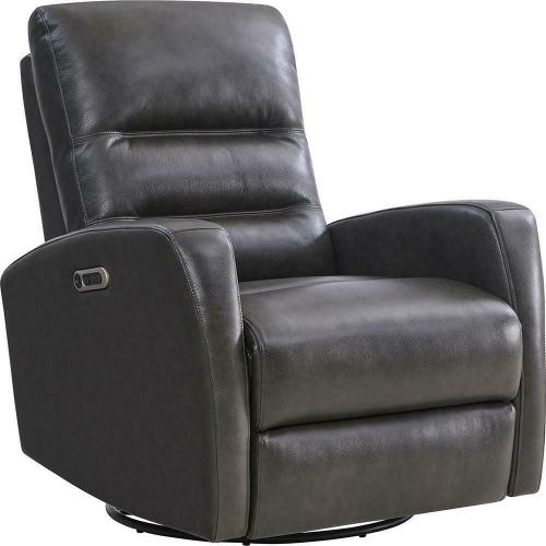 RINGO - FLORENCE GREY Power Swivel Glider Recliner