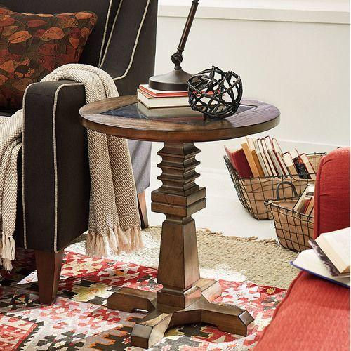 Elm Ridge Round Accent Table