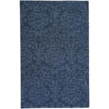 Filigree Indigo - Rectangle - 5' x 8'