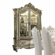 ACME Versailles Curio Cabinet - 61153 - Bone White Product Image