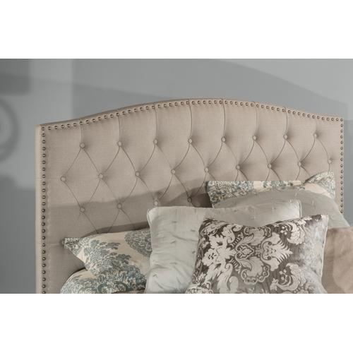 Lila California King Bed - Dove Gray