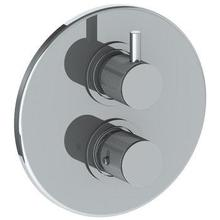 "Wall Mounted Thermostatic Shower Trim With Built-in Control, 7 1/2"" Dia."