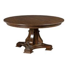 """Portolone Stellia 60"""" Pedestal Table Complete"""