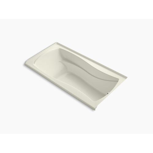 """Biscuit 72"""" X 36"""" Alcove Bath With Bask Heated Surface and Right-hand Drain"""