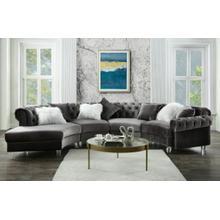 ACME Sectional Sofa w/7 Pillows - 57355