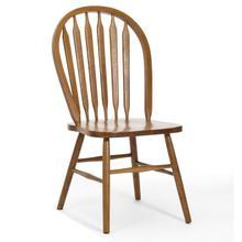 See Details - Classic Oak Chestnut Plain Arrow Chair