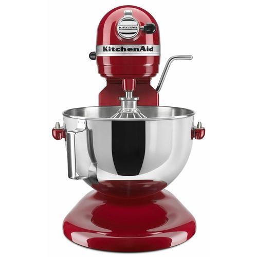 KitchenAid - Professional 5™ Plus Series 5 Quart Bowl-Lift Stand Mixer - Empire Red
