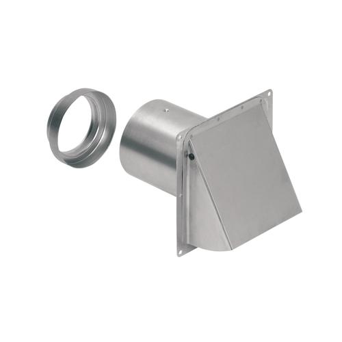 Broan-NuTone® Wall Cap, Aluminum, for 3-Inch and 4-Inch round duct