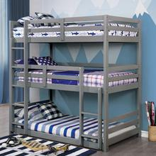 See Details - California Twin/twin/twin Bunk Bed