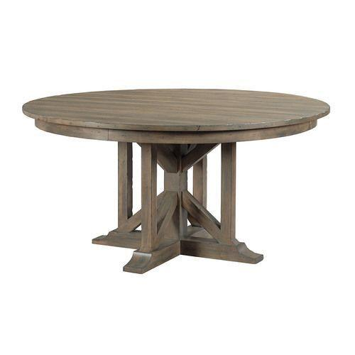 Mill House Rogers Round Dining Table - Complete