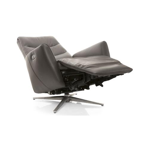 Chocolate Reclining Power Chair