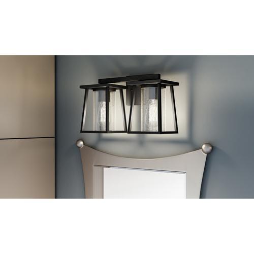 Quoizel - Lodge Bath Light in Matte Black