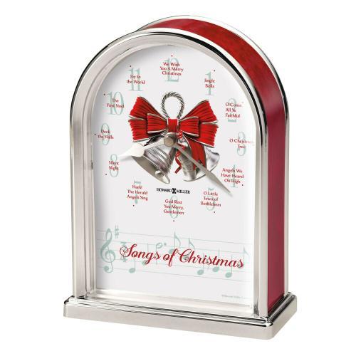 Howard Miller Songs of Christmas Table Clock 645820