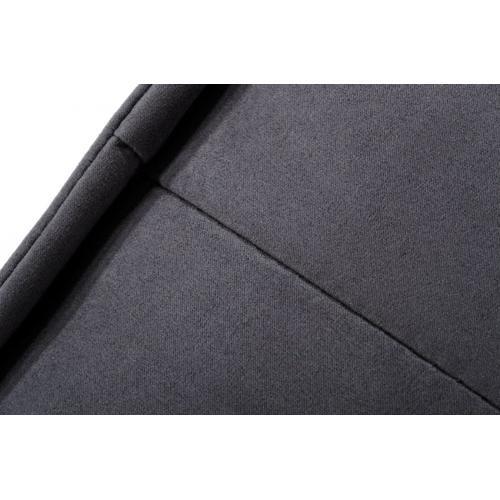 VIG Furniture - Divani Casa Nolden - Waterproof Dark Grey Fabric Ottoman