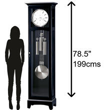 Howard Miller Urban Floor III Grandfather Clock 660125