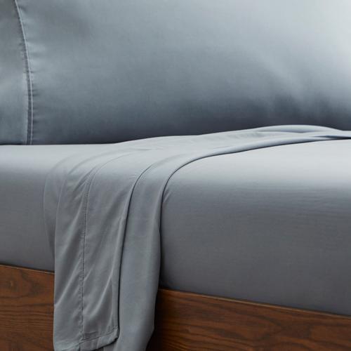 Malouf - 600 TC Cotton Rich Sheet Set, split cal king, White