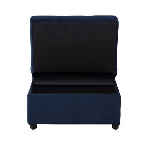 Homelegance - Lift Top Storage Bench with Pull-out Bed