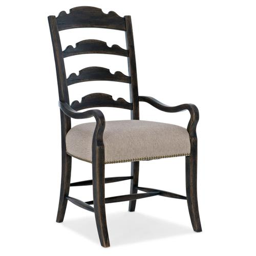 Dining Room La Grange Twin Sisters Ladderback Arm Chair - 2 per carton/price ea