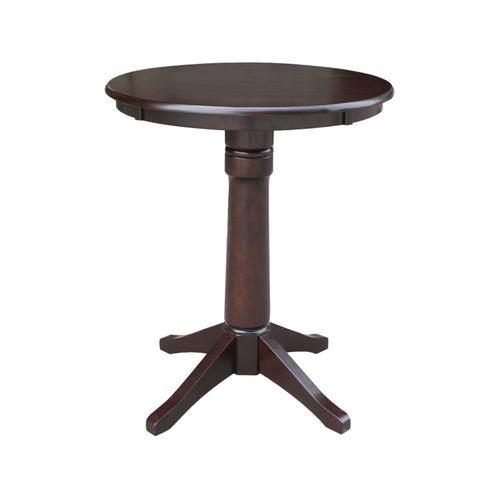 John Thomas Furniture - 30'' Pedestal in Rich Mocha
