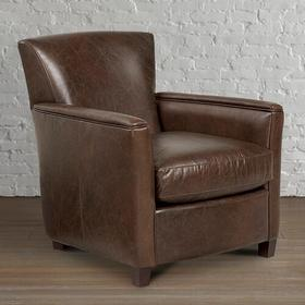 Theron Leather Accent Chair