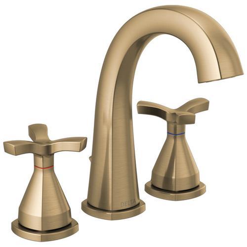 Champagne Bronze Widespread Faucet
