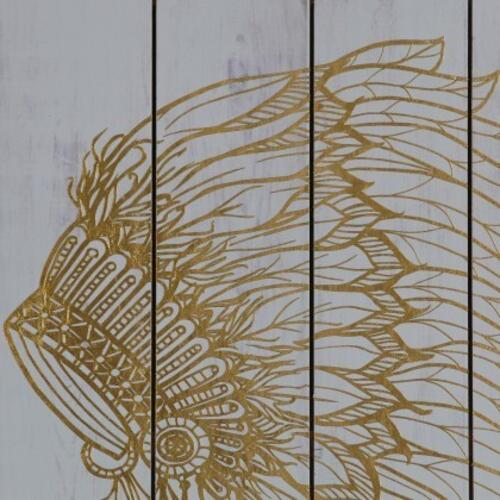 Gold Foil War Bonnet