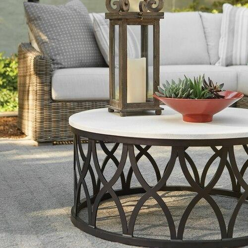 Haley Round Cocktail Table