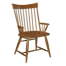 Product Image - Cherry Park Arm Chair Wood Seat