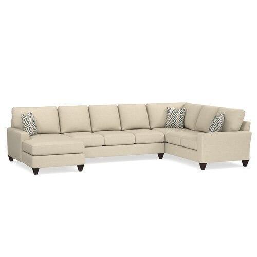 Custom Upholstery U-Shaped Sectional