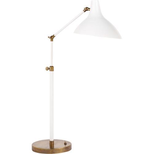 Visual Comfort - AERIN Charlton 17 inch 60.00 watt Plaster White Table Lamp Portable Light
