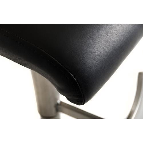 Modrest T-1206 Modern Black Eco-Leather Bar Stool