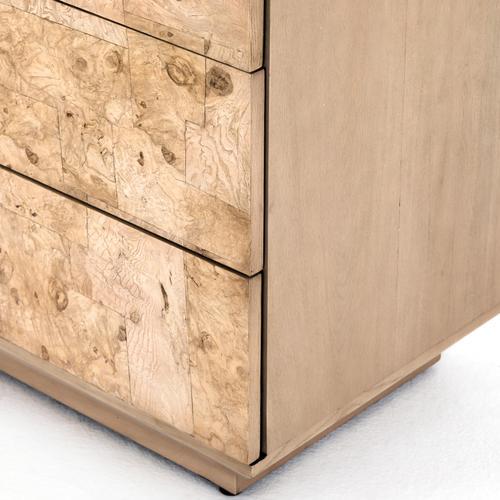 Journey 6 Drawer Dresser-bleached Burl