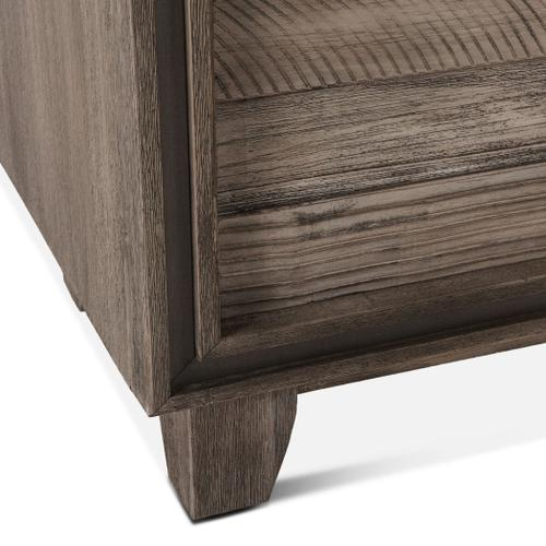 """Driftwood 36"""" Wide Tall Chest Weathered Graywash"""