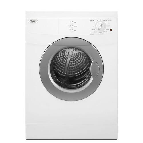 Whirlpool - 3.8 cu.ft Compact Front Load Electric Dryer, 11 Cycles