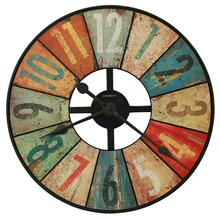 Howard Miller Grange Hall Multi-Colored Rustic Wall Clock 625575