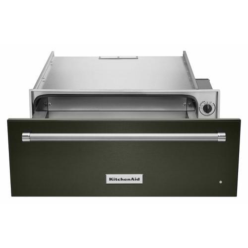 KitchenAid - 27'' Slow Cook Warming Drawer with PrintShield™ Finish - Black Stainless