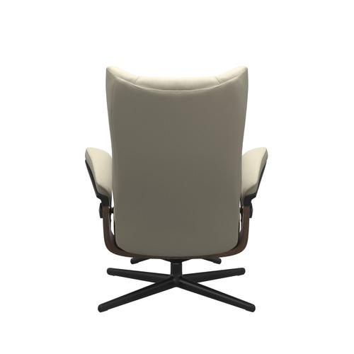 Stressless By Ekornes - Stressless® Wing (M) Cross Chair with Ottoman