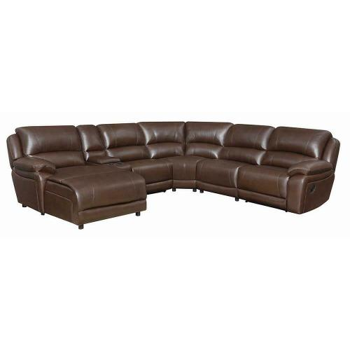 Product Image - Mackenzie Casual Chestnut Motion Sectional