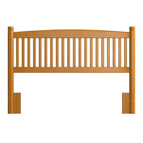 Oak Tree Full/ Queen Headboard - Country Pine