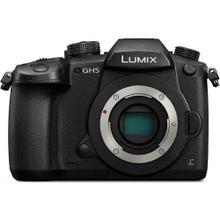 LUMIX GH5 4K Mirrorless ILC Camera Body with 20.3 Megapixels, 4K 60p & 4:2:2 10-bit Internal, Dual Image Stabilization 2, & WiFi + Bluetooth - DC-GH5KBODY