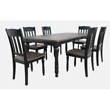 Madison County Dining Extension Table - Vintage Black