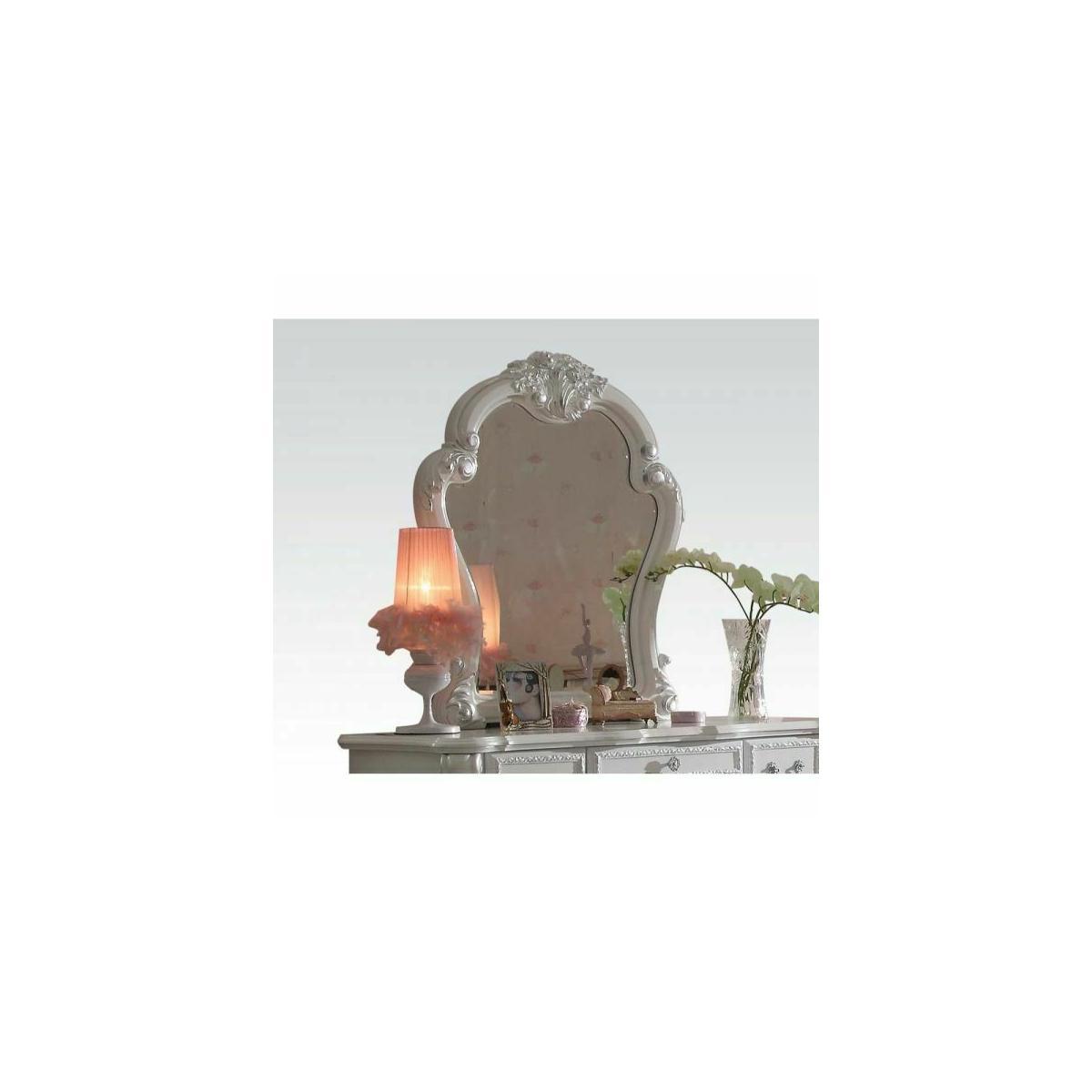 ACME Dresden Mirror - 30669 - Antique White