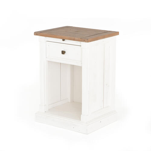 Cintra 1 Drawer Bedside Cabinet W/coffee