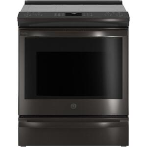 "GEGE Profile™ 30"" Smart Slide-In Electric Convection Range with No Preheat Air Fry"